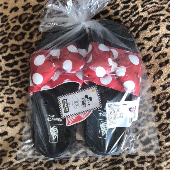 Vans Disney Minnie Mouse Polka Dot Bow